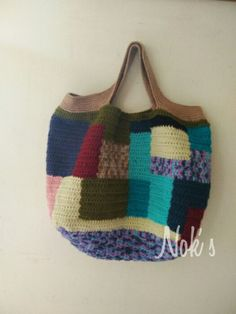 Crochet bag by Nok's When my passion talks with my hand