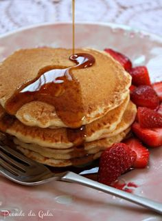 Panquecas americanas para o café da manhã!