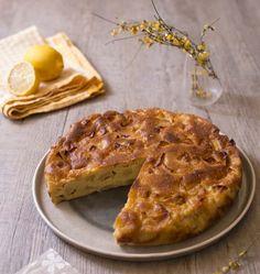 Gâteau madeleine aux pommes et citron - les meilleures recettes de cuisine d'Ôdélices