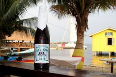 Belikin Beer - my daily nourishment in Placencia Belize, where I went to be certified as a rescue diver.