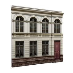 NeoClassical Facades B Model Neoclassical, Windows Architecture, Facade, Classic Window, Mansions, House Styles, Google, Model, Home Decor