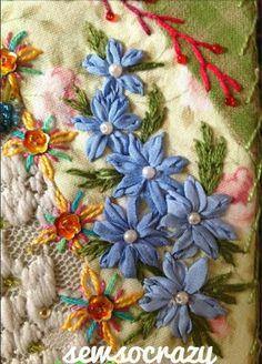 Sew So Crazy!©: November 2013 crazy quilt