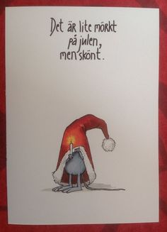 admin | Lära för livet, Privat Christmas Cards 2017, Christmas Greeting Cards, Christmas Decorations, Christmas Feeling, All Things Christmas, Christmas Time, Christmas Illustration, Simple Art, Christmas Inspiration