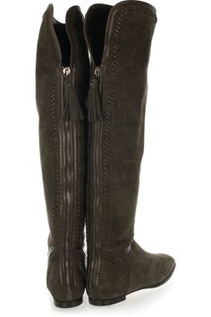 Over the knee flat boots - Jimmy Choo