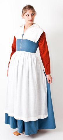 RH208 - Elizabethan Commonwomen's Outfit - Reconstructing History LLC