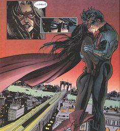 Nightwing and Huntress! omw