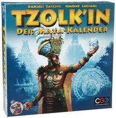 Heidelberger CZ025OKT12 - Tzolk'in, Der Maya-Kalender, Strategiespiel: Amazon.de: Spielzeug