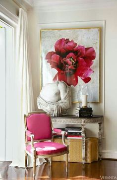 Antiques mixed with modern