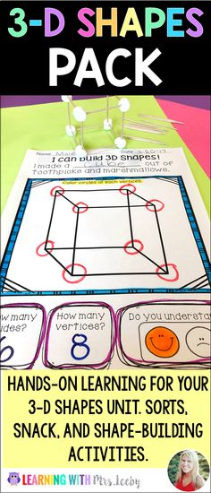 3-D Shapes - Silly H