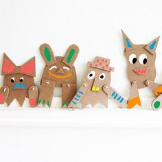DIY Cardboard Creatures