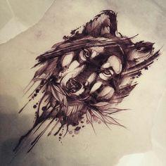 Lobo #tattoosforwomenhalfsleeve