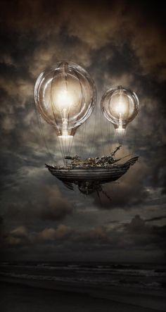 Light Balloons por Robert Cornelius en Fivehundredpx