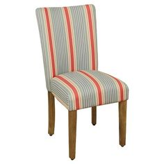 HomePop Stripe Parsons Chair