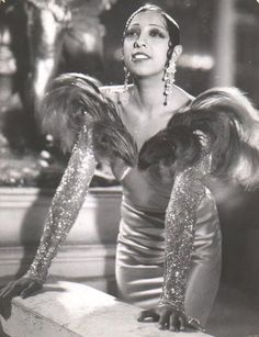 The sublime, incomparable Josephine Baker - ground-breaking, fearless and iconic in every way!