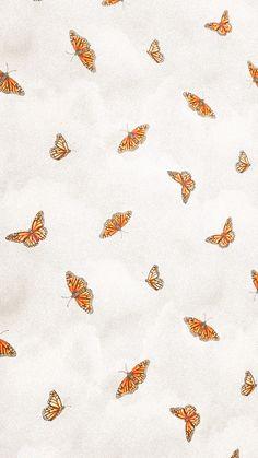L Wallpaper, Simple Iphone Wallpaper, Iphone Wallpaper Vsco, Whatsapp Wallpaper, Homescreen Wallpaper, Iphone Wallpaper Tumblr Aesthetic, Cute Patterns Wallpaper, Iphone Background Wallpaper, Butterfly Wallpaper