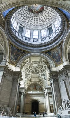 Latin Quarter, inside the Pantheon, Paris V