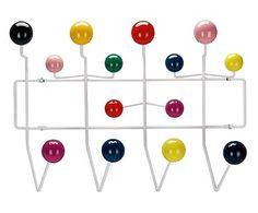 Appendiabiti da parete Hang It All multicolor - 51x37x17 cm