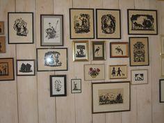 Na minha galeria.