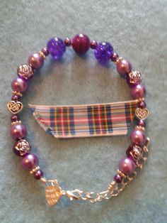 """In loving memory of Mrs Barbara Duncan, my lovely Gran, who will always be in my heart. One a day, Made with love presents today's bracelet 26/05/15. - Love Always for Love is forever – bracelet's £8.50 plus p&p. Please visit """"Local Dundee Designers"""", """"Lovingly Designed Bracelets by Susie with Fibromyalgia"""" and my page Susan McLaughlin to see bracelets made with love."""