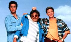 Jonathan Silverman as Richard Parker, Terry Kiser as Bernie Lomax, and Andrew McCarthy as Larry Wilson (Weekend at Bernie's)