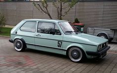 They got a bad rap but a scirocco will always be goals. Vw Golf Cabrio, Volkswagen Golf Mk1, Vw Mk1, Golf Mk2, Automobile, Vw Scirocco, Sweet Cars, Vw Camper, Dream Cars