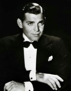 Clark Gable, real classy in a Tux