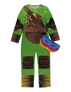 Teenage Mutant Ninja Turtles Fancy Dress Costume | Boys | George at ASDA