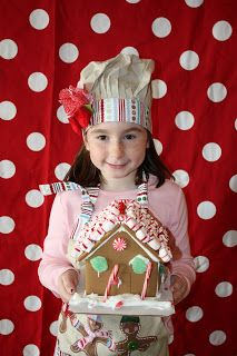 Buckets of Grace: Gingerbread House Making Party {with a special visitor}