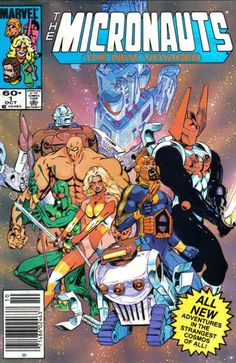 Micronauts: The New Voyages # 1 by Michael Golden