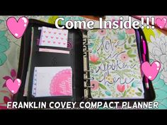 How I use My FranklinCovey Planner|Full Flip Through