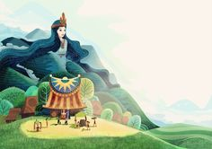 """Check out this @Behance project: """"Van Tich (Once Upon)⭐ A Vietnam"""