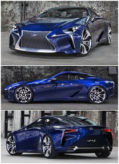 The fastest cars ever in the world. There are Lamborghini, Ferrari, BMW, Bugatti, etc. These are cool and nice cars. Luxury Sports Cars, Top Luxury Cars, Bugatti Cars, Lexus Cars, Jeep Cars, Carros Bmw, Lexus Lc, Lexus 2017, Expensive Cars