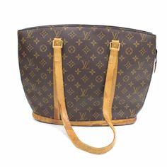 9912e3c8dd57 Louis Vuitton Babylone M51102 Brown Monogram Tote Bag 11042