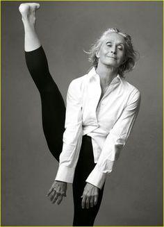 Twyla Tharp. Inspirational.