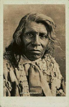 Shaynowishkung (aka One Who Makes A Jingling Sound, aka Bemidjigamaug, aka Lake Through Which A River Flows, aka Chief Bemidji) - Ojibwa - 1895: