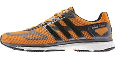 The adidas Adizero Adios Boost Racing Trainer from #adidas to give it it's rather tongue twisting full name is marketed very much as a distance running shoe.