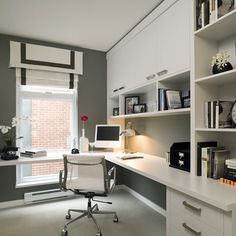 20 Lovely Small Home Office Ideas. 20 Lovely Small Home Office Ideas. The chances are you are looking for small home office solutions, if you are considering creating an office within your […] Modern Home Offices, Small Home Offices, Home Office Space, Home Office Design, Home Office Decor, Office Ideas, Office Designs, Office Table, Ikea Office