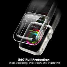 Apple Watch Case (42MM), Merrymall Premium Crystal Clear.