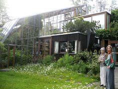 House   Frei Otto's House. Gabi and his wife outside.   Anika Starmer   Flickr