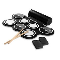 One of the favourites in my store : Electronic Drum Kit - Compact Drumming Machine, MIDI Computer Connection, Quick Setup Roll-Up Design (Mac & PC Compatible) http://elintus.com/products/w290-ptedrl14-electronic-drum-kit-compact-drumming-machine-midi-computer-connection-quick-setup-roll-up-design-mac-pc-compatible