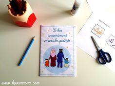Téléchargez GRATUITEMENT un livret d'activité sur le bon comportement envers les parents ! Un livret ludique avec des dalils, des exercices et des jeux.