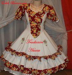 vestidos de huasa chilena - Buscar con Google Baby Dress, Costumes, Chic, Dresses, Design, Google, Fashion, Briefs, Folklore