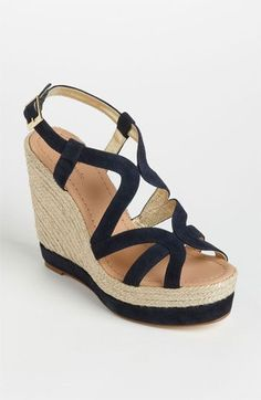 Kate Spade wedges all colors