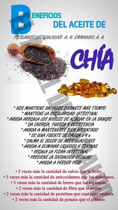 BENEFICIOS DEL ACEITE DE CHIA