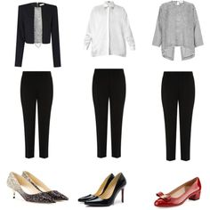 """Same Pant Different Occasions"" by styleright on Polyvore"