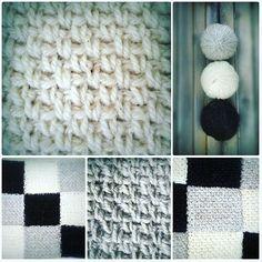 New project ahead. Woven crochet stitch.  It is simple and so beautiful.  Just love it. Finnish sheep wool.  Soft and shiny wool. Non dyed.  #crocheted #finnishsheepwool #walma #suomenlammas #newproject #purewool #crochetstitch #wovenstitch #virkattu #virkkaus #yksinkertainenonkaunista #värjäämätön