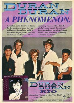 Duran Duran conquers America.