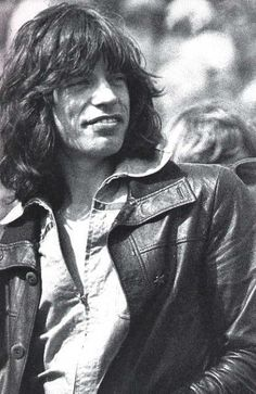Picture of Mick Jagger  / lookin Handsome , Healthy, & Hot !