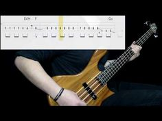 The Police - Roxanne (Bass Cover) (Play Along Tabs In Video) - YouTube