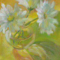 "Daily Paintworks - ""Let The Light Shine Through 441"" - Original Fine Art for Sale - © Laura  Buxo"
